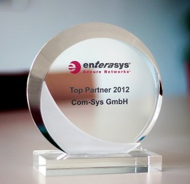 Com-Sys ist Enterasys Top-Partner 2012 in EMEA